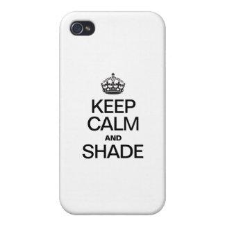 HOUD KALM EN SCHADUW iPhone 4 CASE