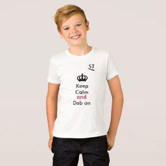 houd kalm en schar t shirt