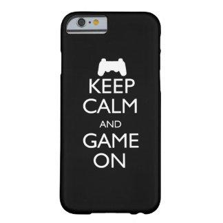 Houd Kalm en Spel Barely There iPhone 6 Hoesje