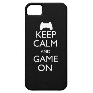 Houd Kalm en Spel iPhone 5 Hoesje