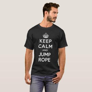 Houd Kalm en Springtouw T Shirt