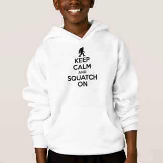 Houd Kalm en Squatch op   Bigfoot Sasquatch