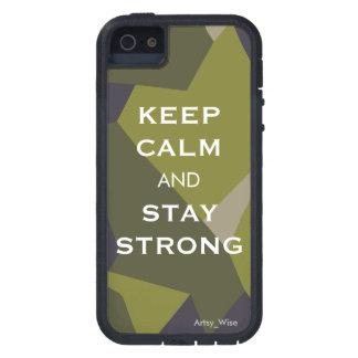 Houd Kalm en Sterk Verblijf Tough Xtreme iPhone 5 Hoesje