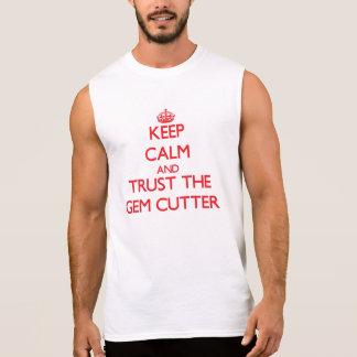 Houd Kalm en vertrouw op de Snijder van de Gem T Shirt