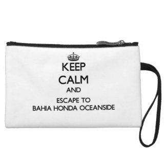 Houd kalm en vlucht aan Bahia Honda Oceanside Flor