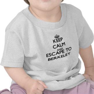 Houd kalm en vlucht aan Berkeley New Jersey Tshirt