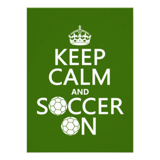 Houd Kalm en Voetbal Aankondigingen