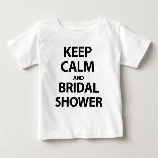 Houd Kalm en Vrijgezellenfeest! Baby T Shirts