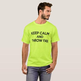 Houd Kalm en werp ver, Schot Gezet Overhemd T Shirt