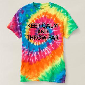 Houd Kalm en werp ver, Schot Gezet Overhemd T Shirts