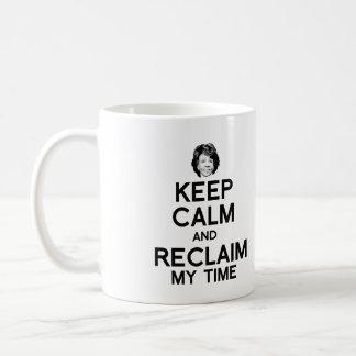 Houd Kalm en win Mijn Tijd terug - Koffiemok