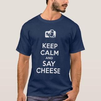 Houd Kalm en zeg Kaas T Shirt