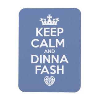 Houd Kalm - het Hart van Dinna Fash Magneet
