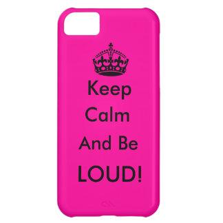 Houd Kalm Hoesjes Voor iPhone 5C