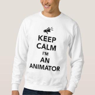 Houd kalm ik ben een animator trui
