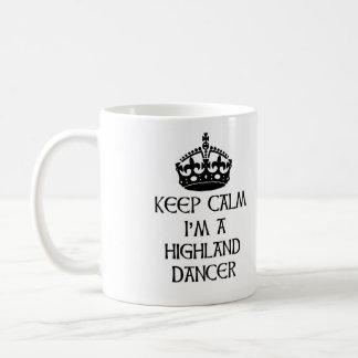 Houd Kalm ik ben een Danser van het Hoogland Koffiemok