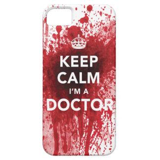 Houd Kalm ik ben een iPhone 5 van bloed-Spatted iPhone 5 Case-Mate Hoesjes