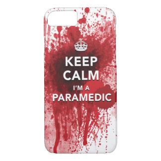 Houd Kalm ik ben een iPhone 7 van de Paramedicus iPhone 8/7 Hoesje