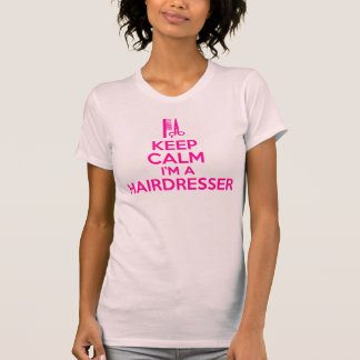 Houd Kalm ik ben een Kapper T Shirt