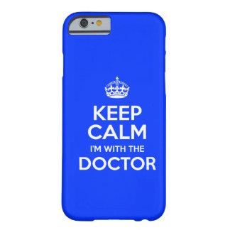 Houd Kalm ik ben met de Arts (met kroon) Barely There iPhone 6 Case