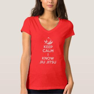 Houd Kalm - ik ken Jiu Jitsu T Shirt