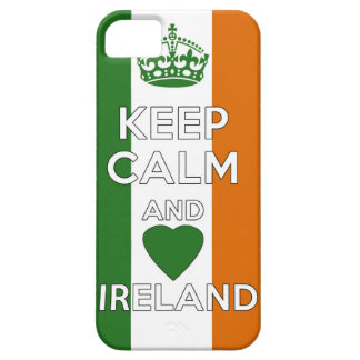Houd Kalm & Liefde Ierland Barely There iPhone 5 Hoesje