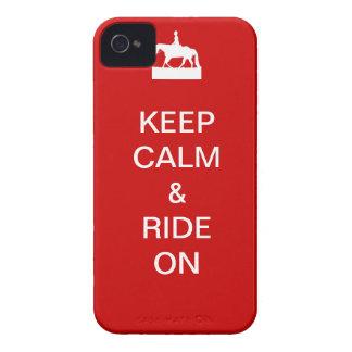 Houd kalm & rit iPhone 4 hoesje