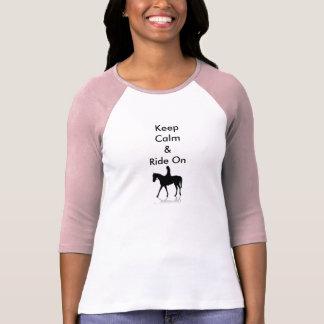 Houd Kalm & Rit T Shirt