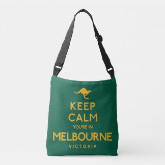 Houd Kalm u zijn in Melbourne! Crossbody Tas