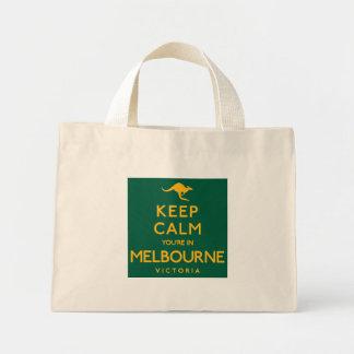 Houd Kalm u zijn in Melbourne! Mini Draagtas