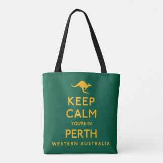 Houd Kalm u zijn in Perth! Draagtas