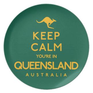 Houd Kalm u zijn in Queensland! Bord