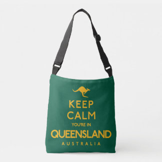 Houd Kalm u zijn in Queensland! Crossbody Tas