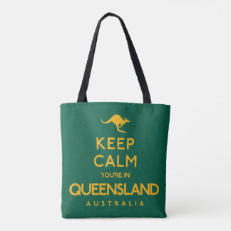Houd Kalm u zijn in Queensland! Draagtas