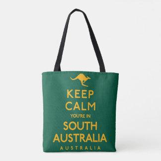Houd Kalm u zijn in Zuid-Australië! Draagtas