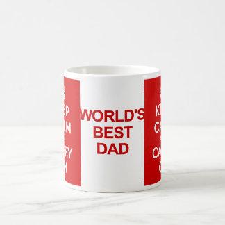Houd Kalm Vaderdag Koffiemok