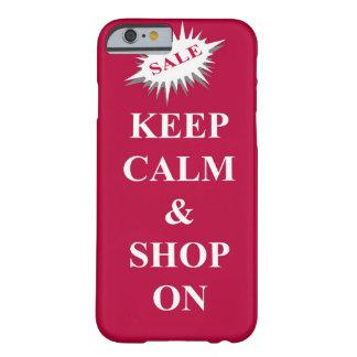 houd kalm & winkel barely there iPhone 6 hoesje