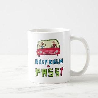 Houd Kalme DrijfTest Koffiemok