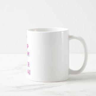 Houd Kalme en Super Kawaii Koffiemok
