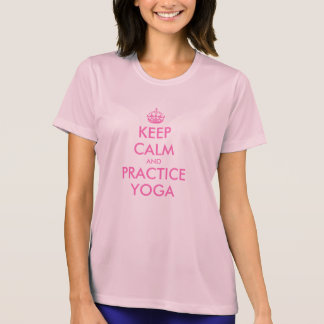 Houd Kalme T-shirt | houden kalme en praktijkyoga