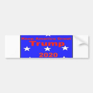Houd Politieke Slogan van de Troef 2020 van Bumpersticker