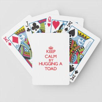 Houd rust door een Pad te koesteren Poker Kaarten