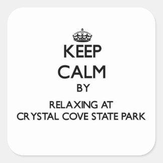 Houd rust door te ontspannen bij het Park van de Vierkante Sticker