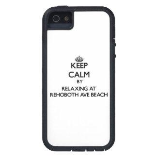 Houd rust door te ontspannen bij het Strand Delawa Tough Xtreme iPhone 5 Hoesje