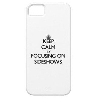 Houd Rust door zich op Bijzaken te concentreren iPhone 5 Covers