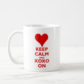 Houd Rust met Omhelzingen en Kussen Koffiemok