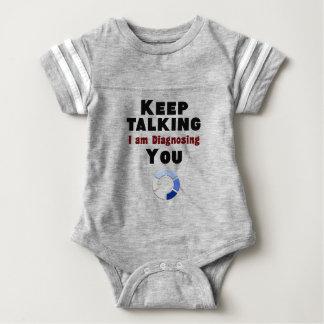 houd sprekend diagnostiserend u giftt-shirt baby bodysuit