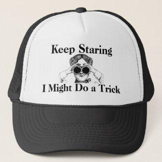 Houd starend ik zou kunnen een Humoristische Truc Trucker Pet
