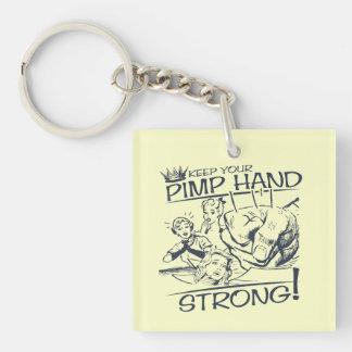 Houd Uw Pimp Hand Sterk Sleutelhanger