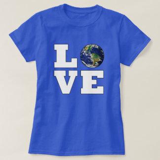 Houd van de Milieubescherming van de Aarde T Shirt